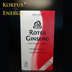 Ginseng Rouge - Korpus Energy France