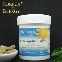 Gelée royale + Pollen - Korpus Energy France